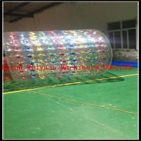 Buy cheap summer hot inflatable water roller zorb ball  2.2M  with custom color PVC1.0mm material product