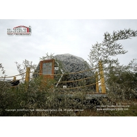 Buy cheap 6m And  Geodesic Dome Glamping Tent For Outdoor Hotel Reception product