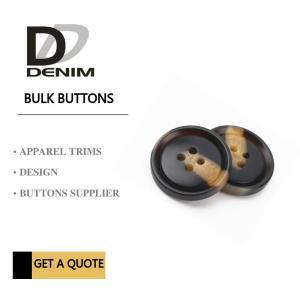 Buy cheap Fashionable Dress Bulk Plastic Snap Button Brown & Black DTM Fabric Stock Size product