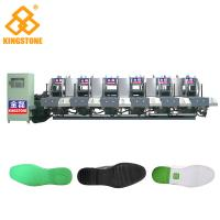 Buy cheap Automatic 1-2 Color Rubber Sole Making Machine With Auto Inter - Lock Protection System product