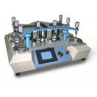 Buy cheap Adjustable Speed Martindale Abrasion Tester Textile Testing Machine With 8 Heads product