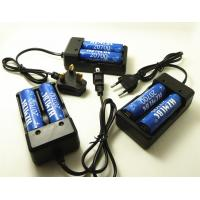 Buy cheap 18650 26650 20700 Battery Charger , Dual Bay Vapor Battery Charger Plug In Type product