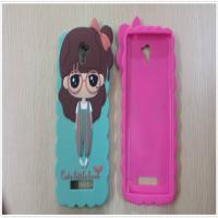 China custom soft PVC/silicone/rubber mobile phone cases with cute design for decoration on sale