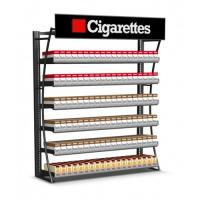 Buy cheap Durable Cigarette Pusher Pack Display Rack , Wall Mount Tobacco Display Rack product