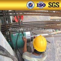 Quality prestressed anchorage for concrete post tension monostrand stressing jack for sale