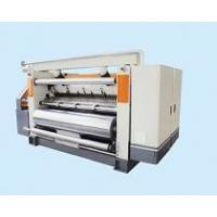 Buy cheap Fingerless Type Single Facer For Corrugated Cardboard Making Machine Custom Color product