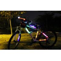 China Warning Safety Racing Bicycle LED Lights Side With Visible Over 400 Meter on sale