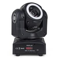 Buy cheap Cheap Price Manual Focus 60w RGBW 4in1 Mini LED Moving Head Beam Light with LED Strip product