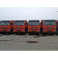 Buy cheap 8X4 371HP Howo A7 Dump Truck With High Performance Engines Yellow Color product