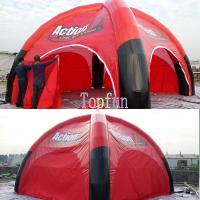 Buy cheap Red Inflatable Event Tent product