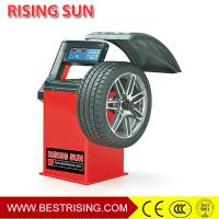 China Car Workshop Equipment Semi Automatic 220V Wheel Balancer Machine with CE Certificate on sale