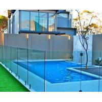 Buy cheap Free design laminated tempered Framless Glass fencing for railling / pool / balcony product