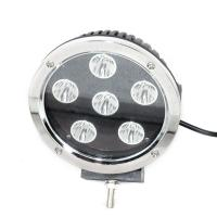 China 7 Inch Round Led work light with 60 intensity CREE LEDS,  LED HeadlightBlack Cover with IP67 waterproof for Car on sale