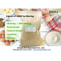 Buy cheap Food Grade Powder Lipase Enzyme LP-2000 High Efficient For Bakery 200000 U / g from wholesalers