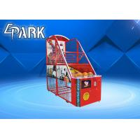 Buy cheap Fun Exercise Arcade Basketball Game Machine For Shopping Mall Easy To Move product