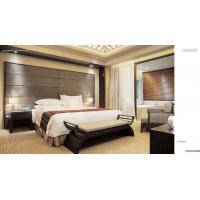 China hotel furniture, bedroom, wooden bed, bed head, bed stool, bedding, mattress on sale