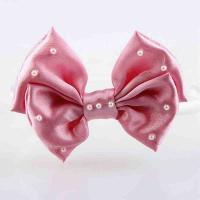 Buy cheap Headband Kids Hair Accessories Ribbon Bow Head band With Pearl For Toddler Girls Hair Accessories product