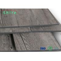 Buy cheap Soundproof SPC Flooring , Gray Vinyl Flooring Good Dimensional Stability product