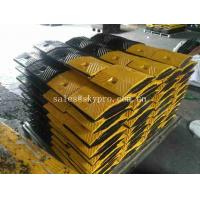 China Traffic Recycled Portable Rubber Speed Humps / Safety Parking Lot Speed Bumps on sale
