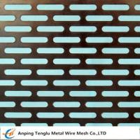 Buy cheap Slot Holes Perforated sheet product