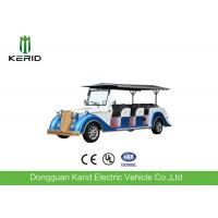 Buy cheap Battery Operated Vintage Electric Car , 8 Seater Electric Passenger Vehicle With Sunshade product