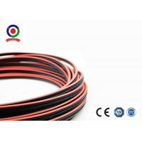 TUV Certified Twin Core Solar Cable , 1.8KV DC 2.5 mm Two Core Cable 100m Per Roll