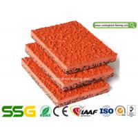 Buy cheap Modified PU Mixed EPDM Granules Athletics Running Track Surfaces product