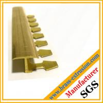 Buy cheap C38500 CuZn39Pb3  CuZn39Pb2 CW612N C37700 punching brass extrusion profile floor tee product