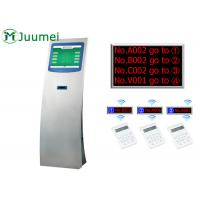 Buy cheap Multiple Multifunction Queue Ticket System Machine Juumei Wireless product