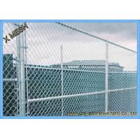 """Buy cheap 11.5 Ga (0.11"""") Us Standard Galvanized Chain Link Temporary Fence product"""
