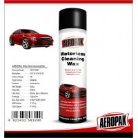 Glossy Finish Car Interior Cleaning Products Spray Wax For Cockpit / Dashboard
