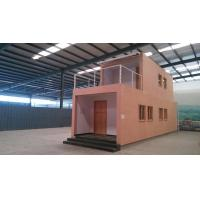 China Energy Saving Prefab Container Homes / WPC House For Workshop Storage on sale