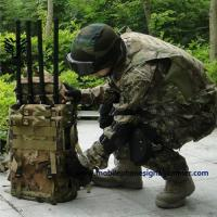 Buy cheap Internal Battery Backpack Jammer 6 Bands Frequency With External LCD Display product
