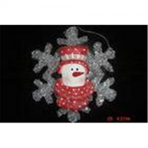 Decoração personalizada pendente dada forma do Natal dos desenhos animados do CE neve bonita em árvores