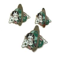 Buy cheap Cute Style Hard Enamel Lapel Pins 0.8 - 3inch Size Iron / Zinc Alloy Material from wholesalers