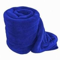 Buy cheap Wearable Solid Color Polar Custom Fleece Blankets Wholesale Full Size / King Size product