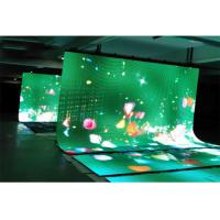 Buy cheap IP54 Rental Flexible LED Display Full Color Aluminum Convenient Foldable Design from wholesalers