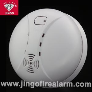 Buy cheap ブザーが付いている携帯用火災警報システム煙探知器9V電池 product