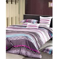 Reactive printed floral bedding sets twill cotton with for High thread count bed sheets