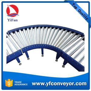 Buy cheap Steel Motorized Roller Conveyor,Powered Roller Conveyor,Curve Roller Conveyor product