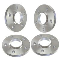 15mm Thick   Hubcentric Silver Wheel Spacers   5x130   Porsche VW Audi   71.6mm