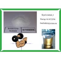 Buy cheap Hormone Steroid Raw Powder Boldenone Acetate 100Mg/Ml Semi Finised Oil product