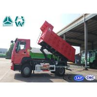 Buy cheap Red Howo Heavy Mining Trucks 4 X 2 Light Weight With Durable Structure from wholesalers