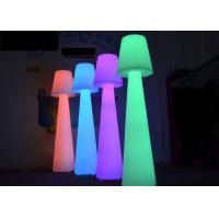 Buy cheap Durable Color Changing  LED Floor Lamps / Cocktail Bar Furniture Wireless Remote Control product