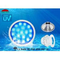10m Length Par 56 LED Pool Light AC 24W , Multi Color Stainless Steel Pool Lights