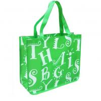 China Custom Printed Lamination Non Woven Shopping Bag Personalized Beach Bags, on sale