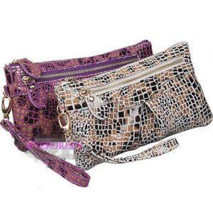 Les embrayages de bourses et les poignées en cuir de bourse de portefeuilles vendent en gros (EMG1255)