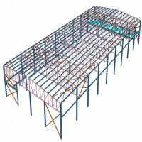 Buy cheap Galvanized Surface Treatment Prefabricated Steel Structures Hear - Preservation product