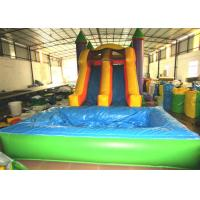 Buy cheap Inflatable combos PVC inflatable jump classic inflatable bouncy house with pool colourful inflatable bouncy product