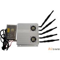 Buy cheap 20w Tabletop High Range Mobile Jammer Signal Blocker 315 / 344 Mhz For Classroom product
